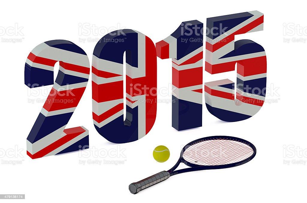 Wimbledon Championships 2015 stock photo