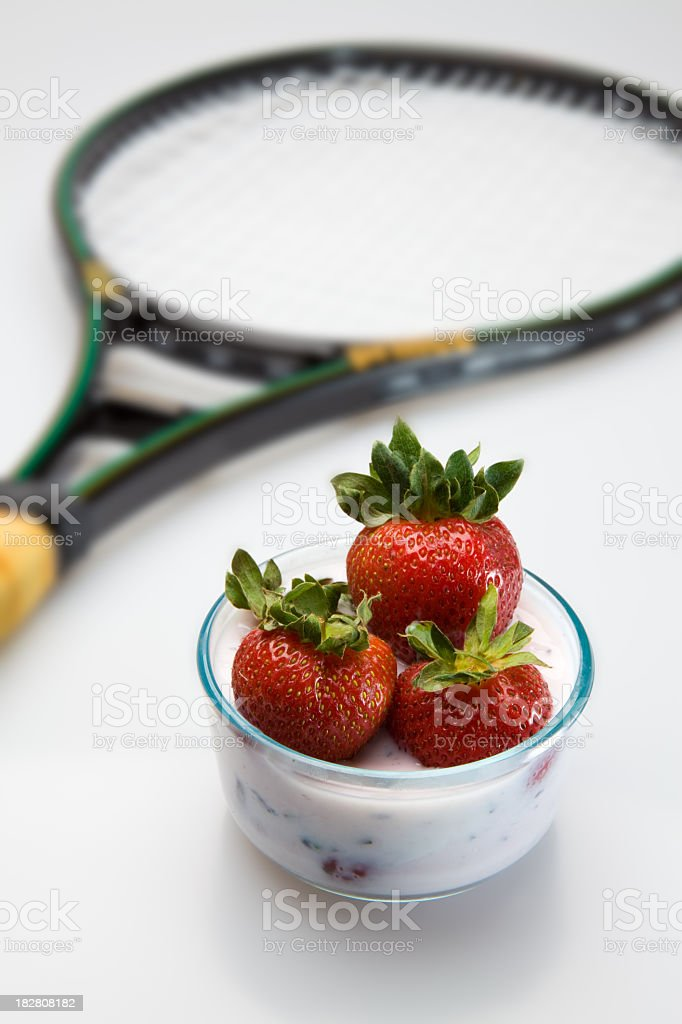 Wimbledon concept stock photo