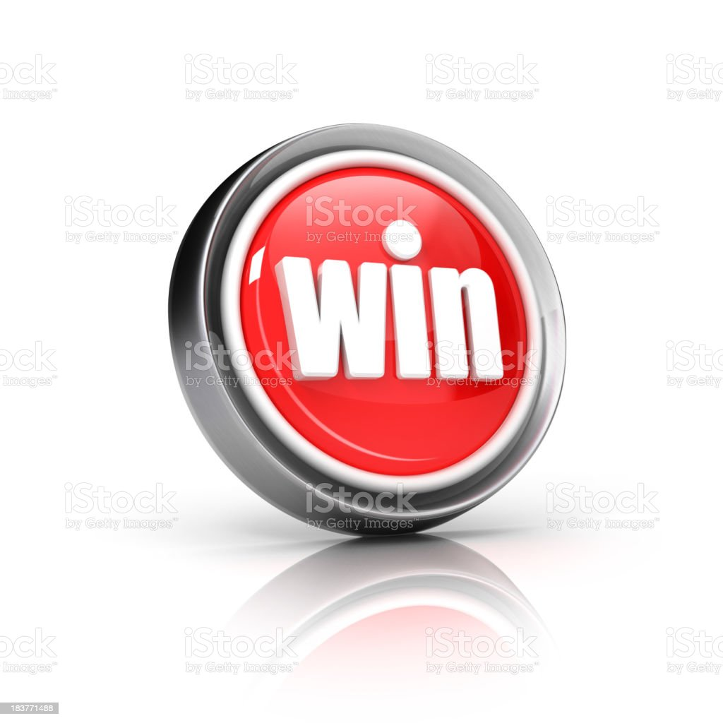 win or prize icon royalty-free stock photo