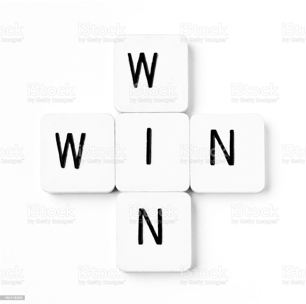Win Situation royalty-free stock photo