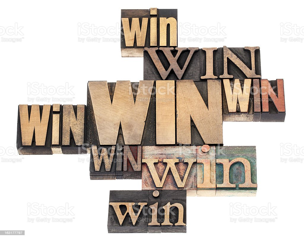win word abstract royalty-free stock photo
