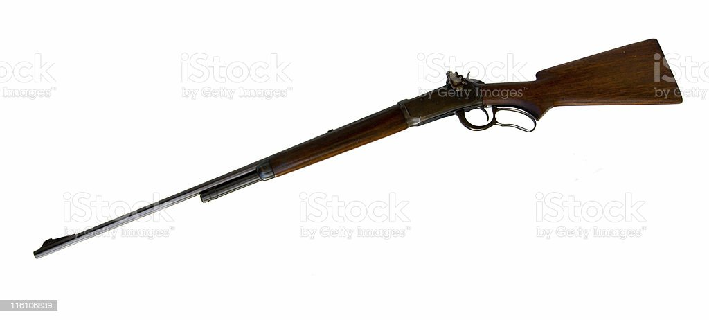 Winchester Lever Action .219 Zipper royalty-free stock photo