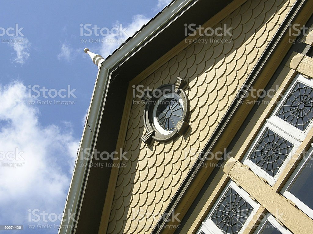 Winchester Mystery House royalty-free stock photo