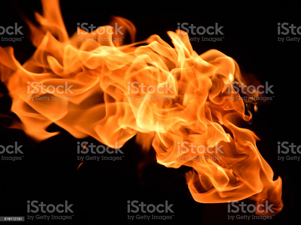 Wind and Fire stock photo
