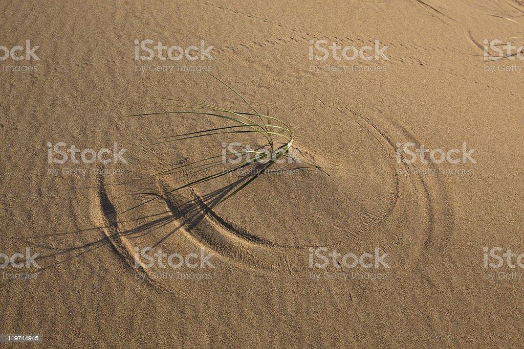 Wind circle royalty-free stock photo