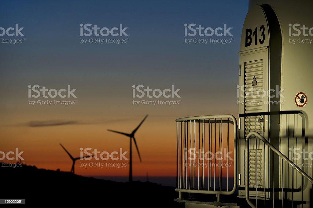 wind energy / generator royalty-free stock photo