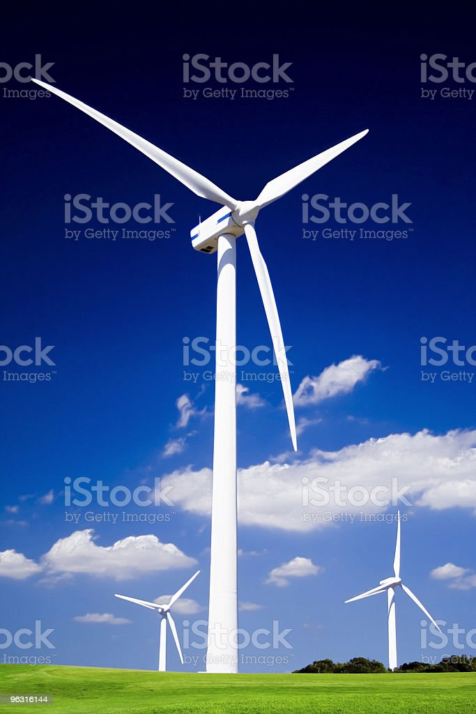 wind energie royalty-free stock photo