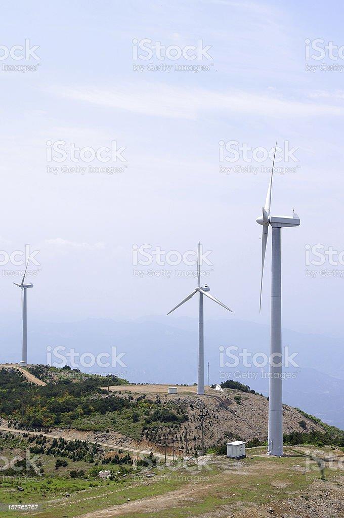 Wind farm royalty-free stock photo
