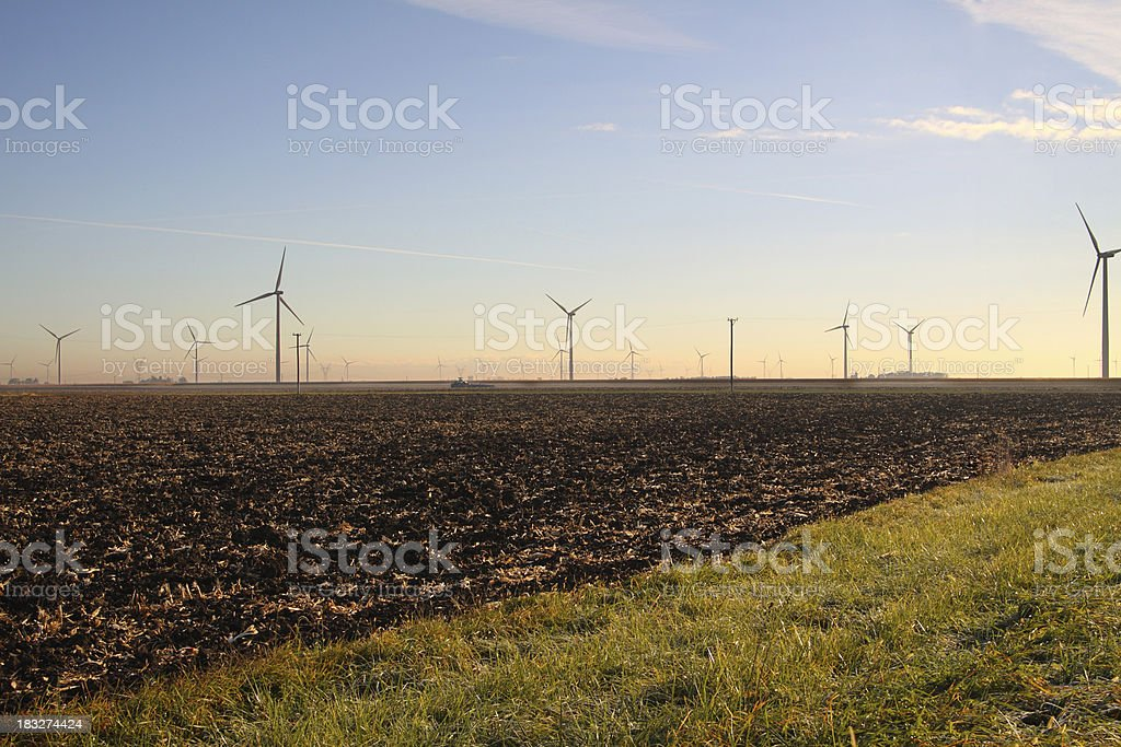 Wind Farm stock photo