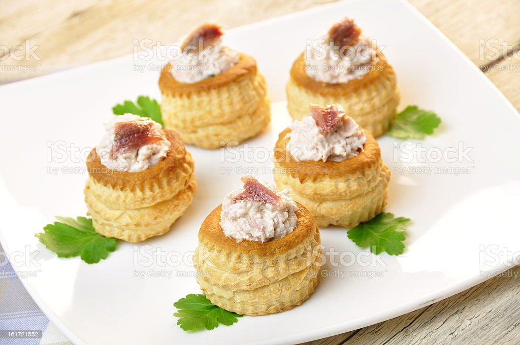 vol au vent royalty-free stock photo