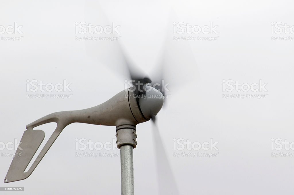 Wind Generator royalty-free stock photo