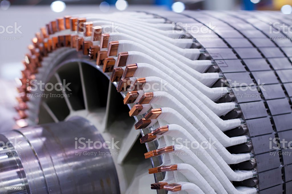 wind generator stock photo