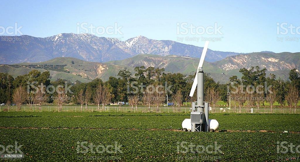 wind machine stock photo