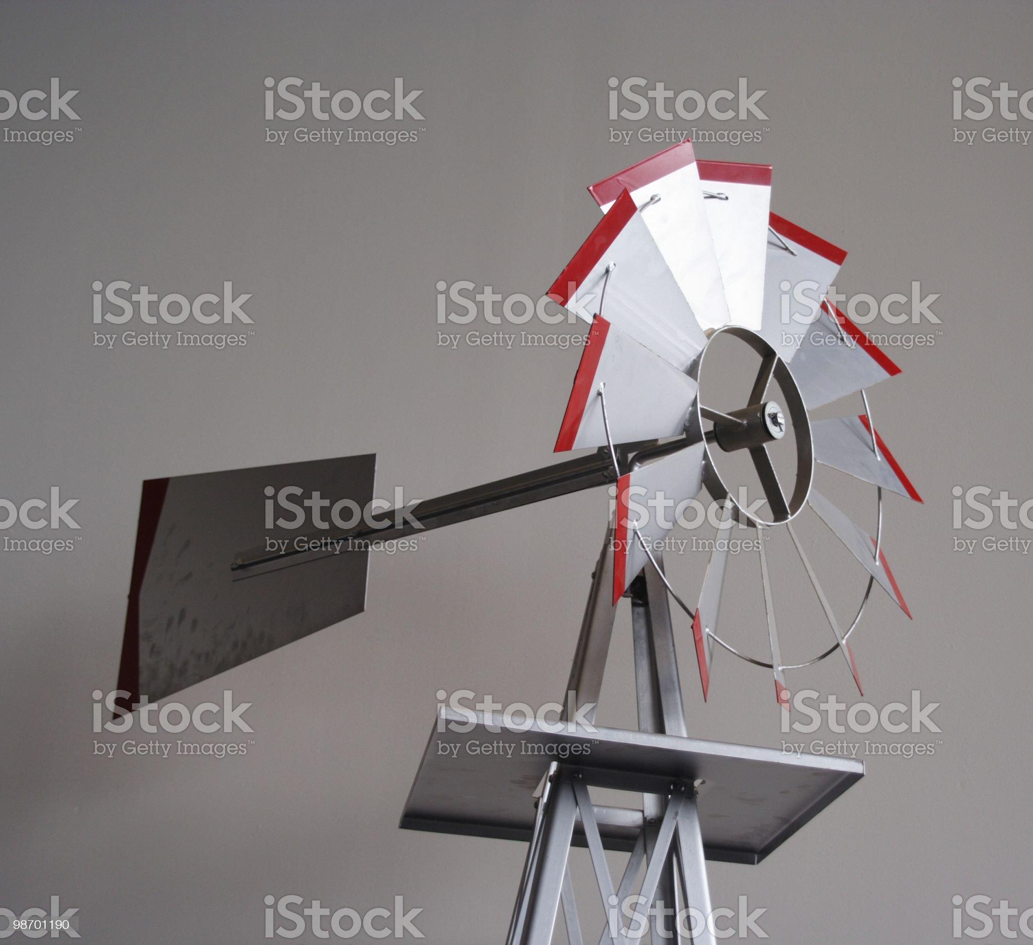 Wind Meter royalty-free stock photo