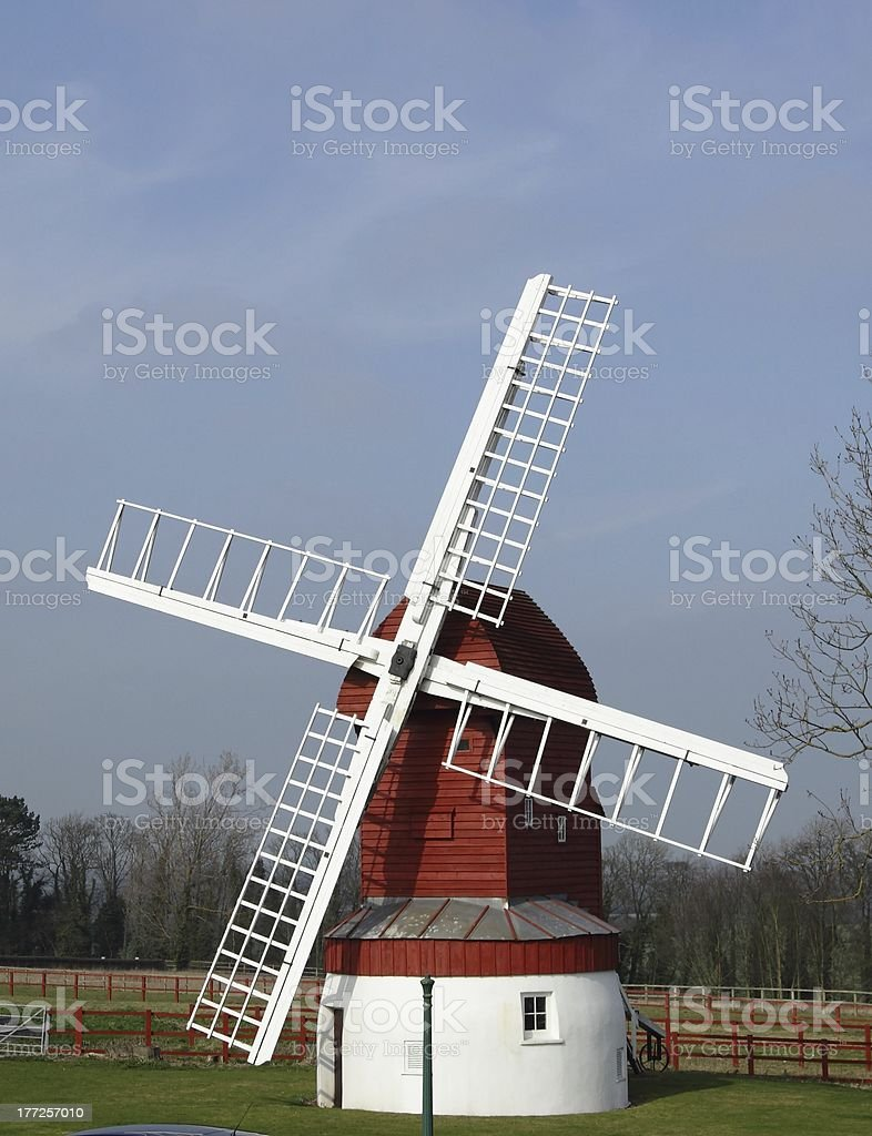 Wind mill royalty-free stock photo