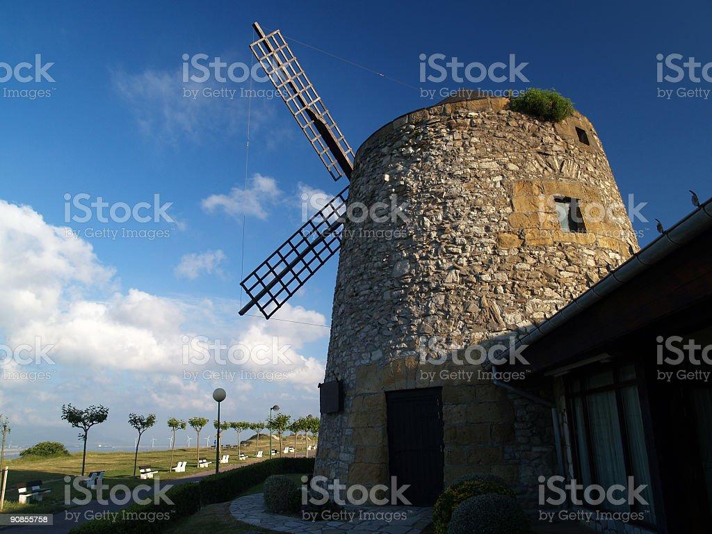 wind mill stock photo