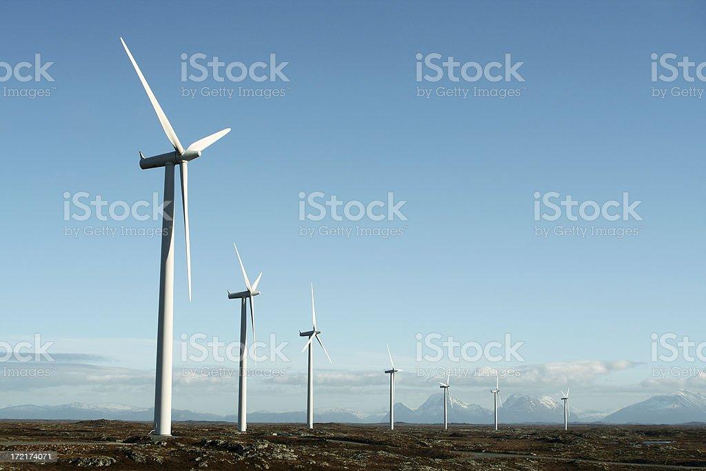 wind mills royalty-free stock photo