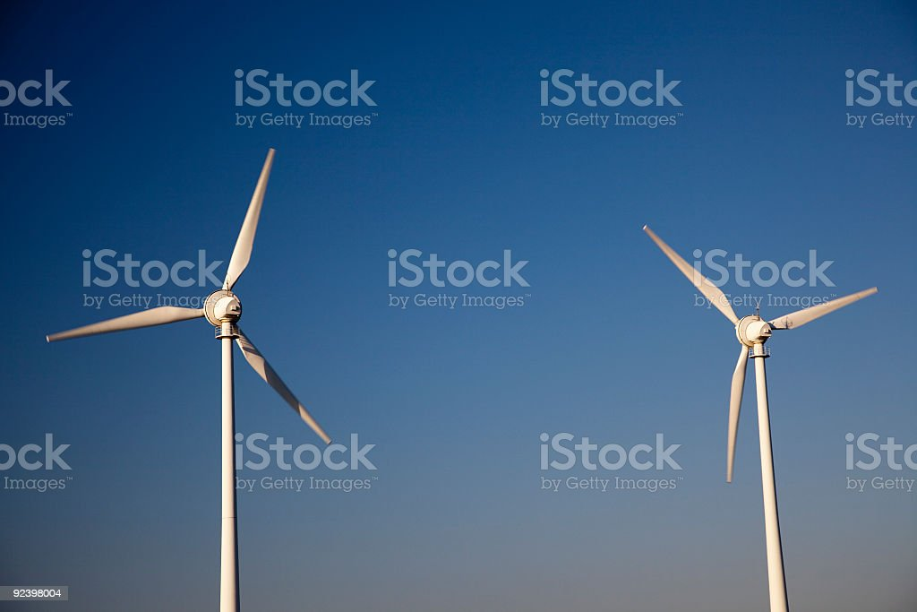 wind mills royalty-free stock photo