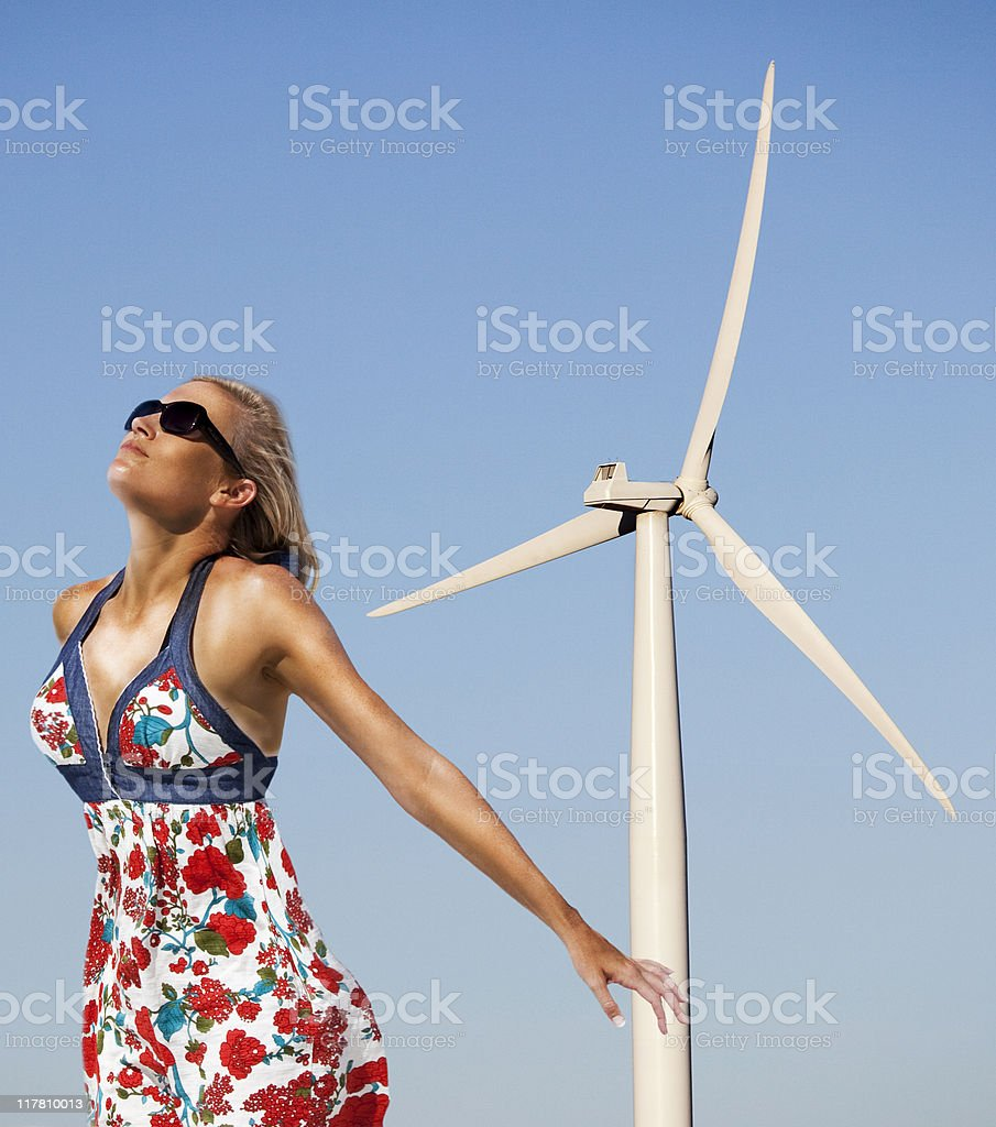 Wind royalty-free stock photo