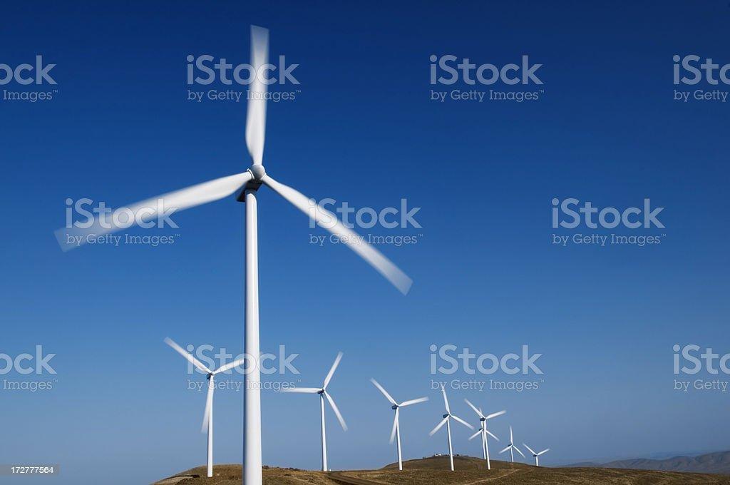 Wind Power royalty-free stock photo