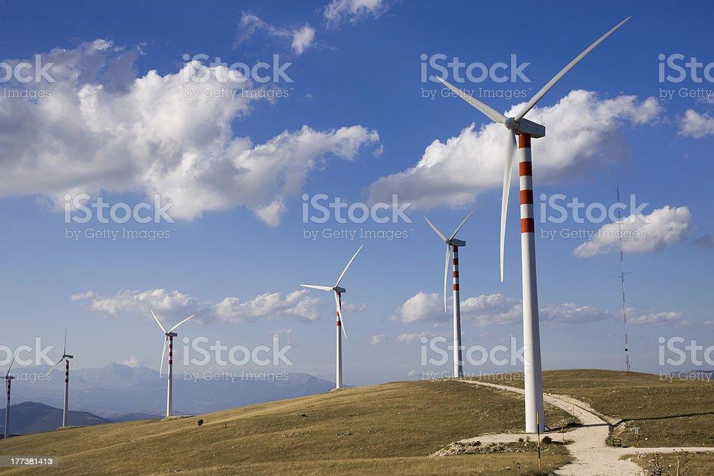 wind power stock photo