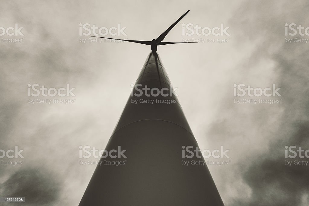Wind Powered stock photo