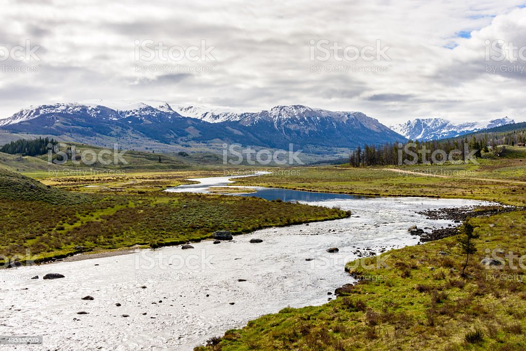 Wind River Range stock photo