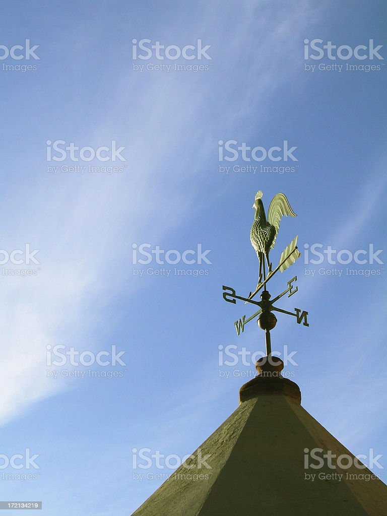 Wind Rooster royalty-free stock photo