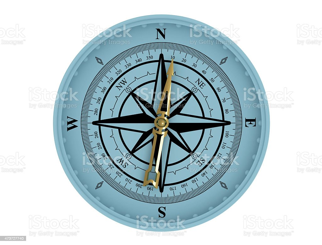 wind rose stock photo