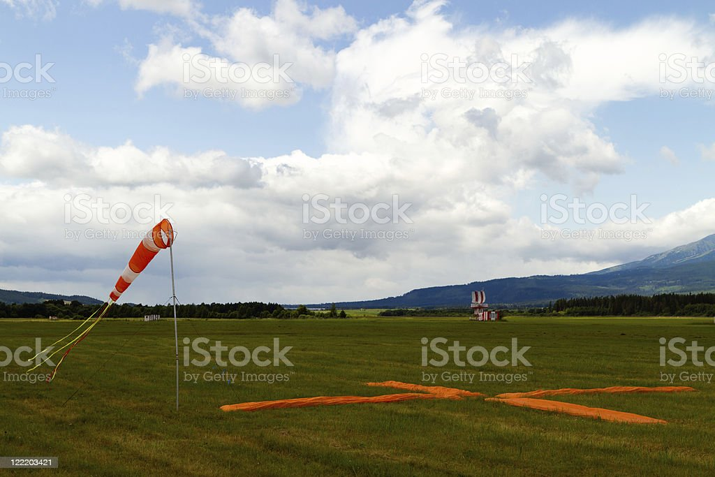 Wind sock stock photo