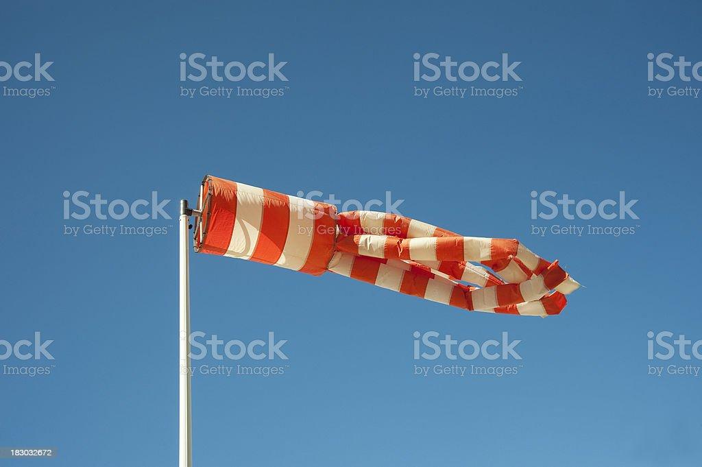 Wind sock. royalty-free stock photo