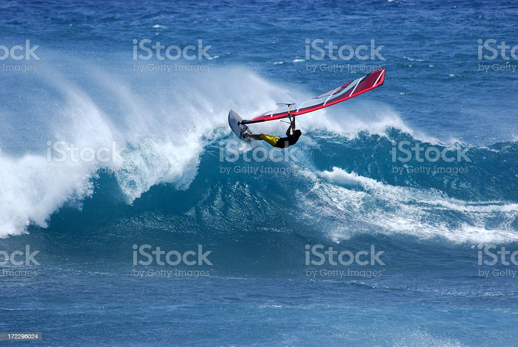 Wind Surfing royalty-free stock photo