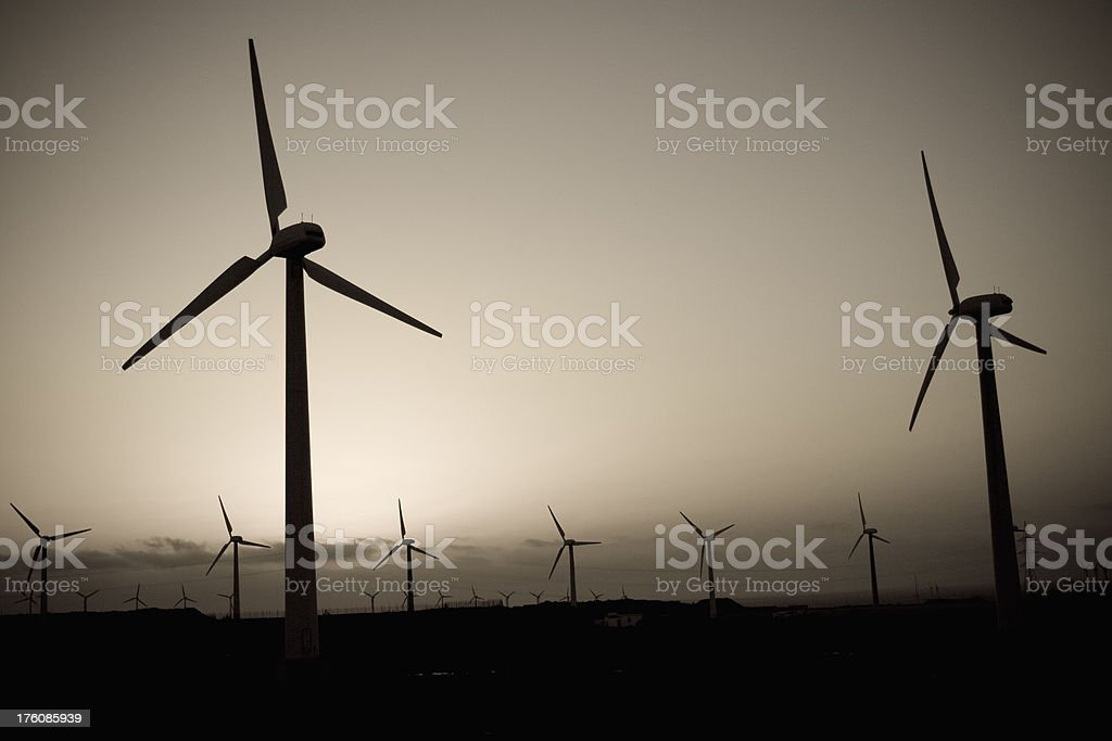 Wind technology royalty-free stock photo