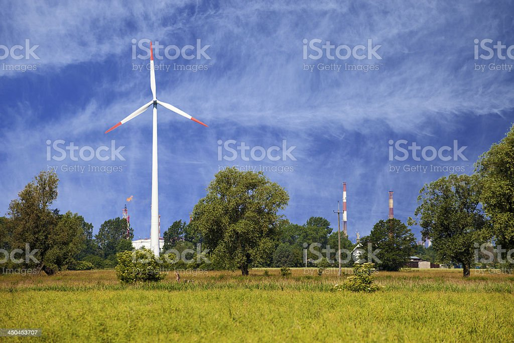 Wind Tower royalty-free stock photo