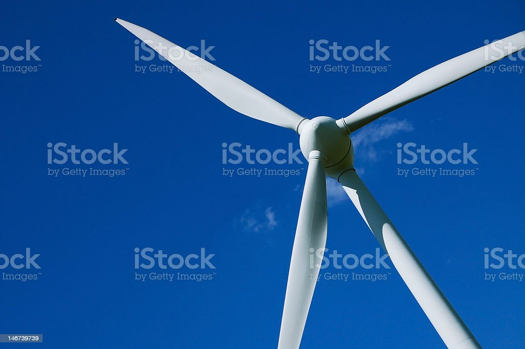 Wind turbine 1 royalty-free stock photo