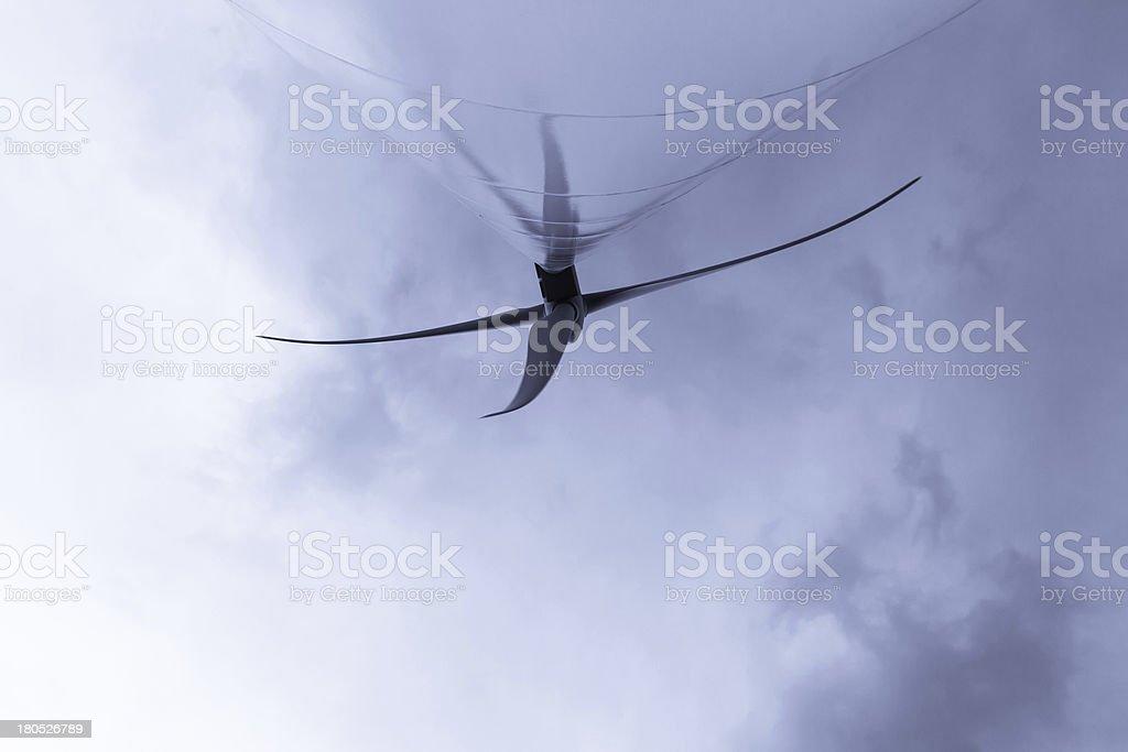 Wind Turbine - Aerogenerador stock photo