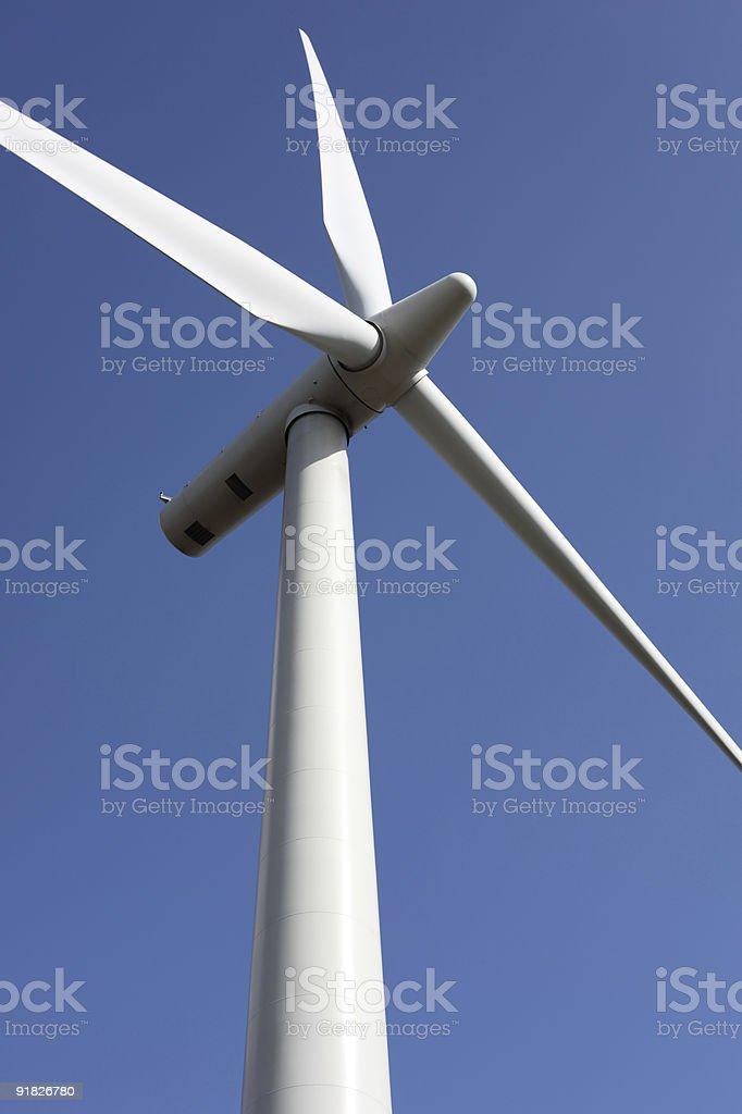Ветер лопаток турбин Стоковые фото Стоковая фотография
