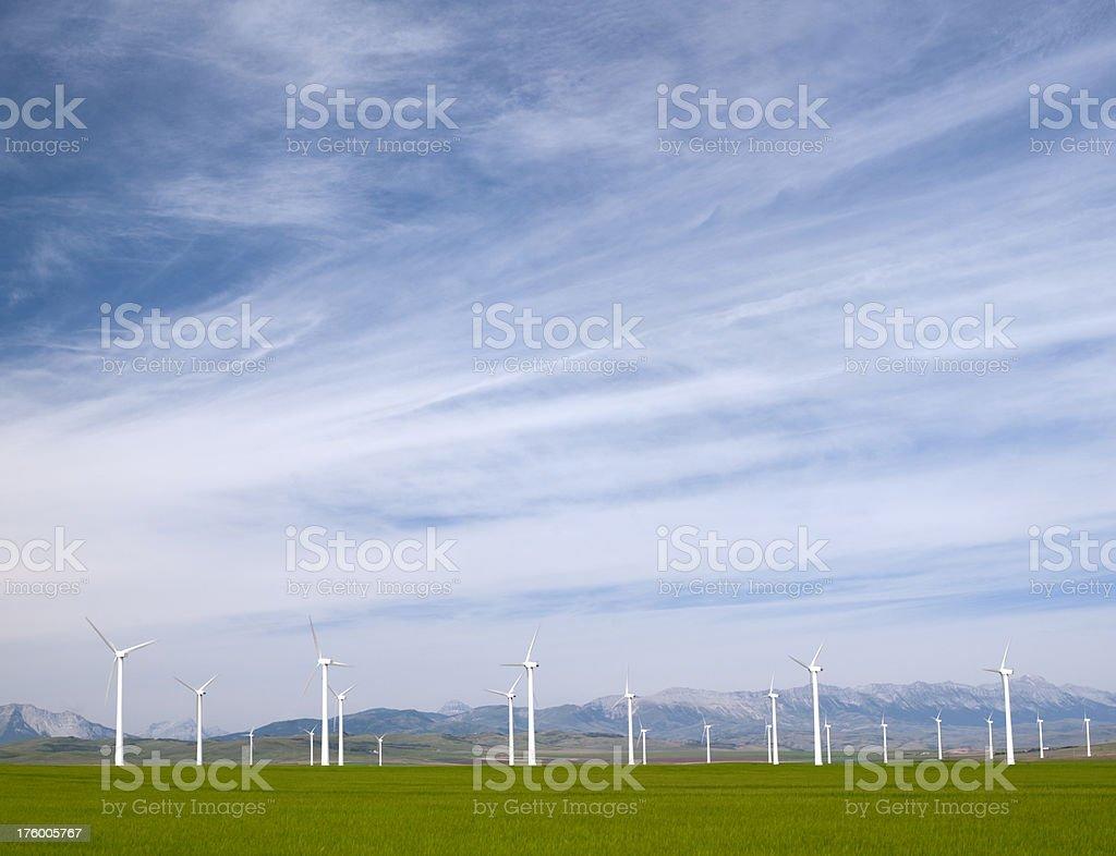 Wind Turbine Landscape royalty-free stock photo