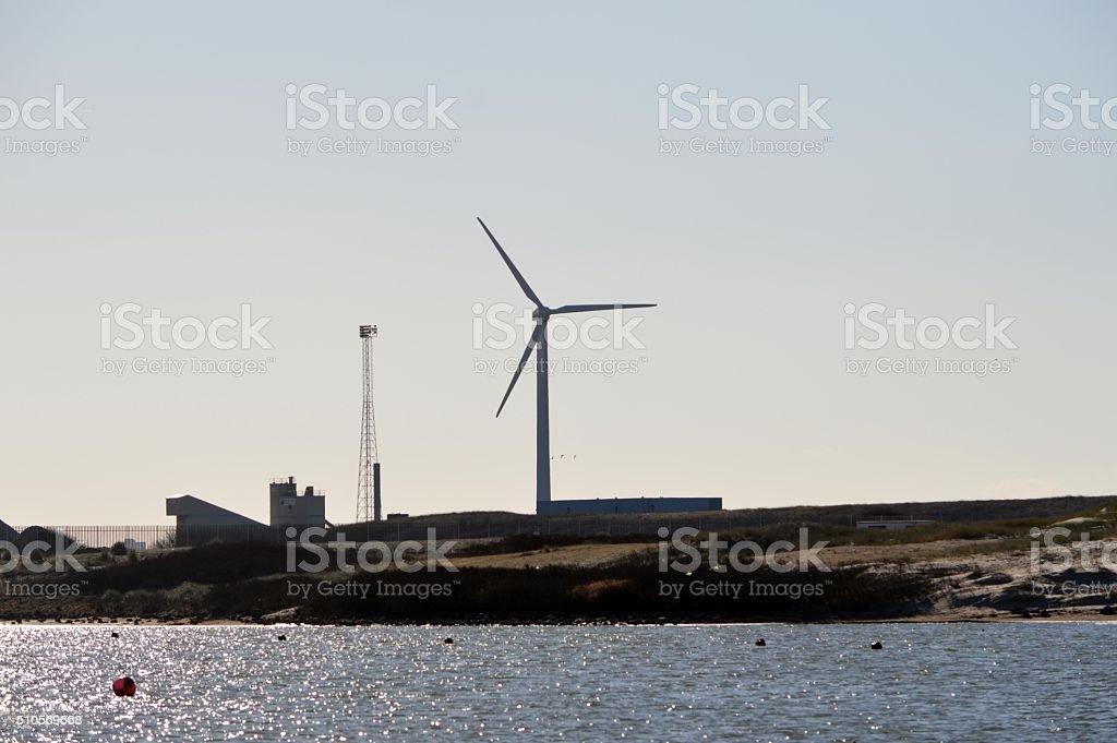 Éolienne photo libre de droits