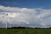 Wind turbine renewable energy concept