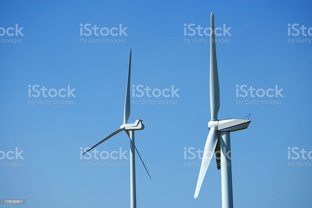 Wind Turbines, Energiewende, Windenergie stock photo