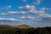 Wind Turbines.  Renewable energy.