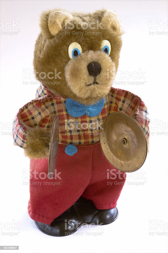 Wind up teddy bear royalty-free stock photo