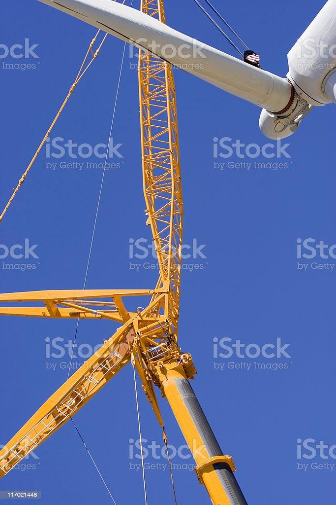 Wind works IV stock photo