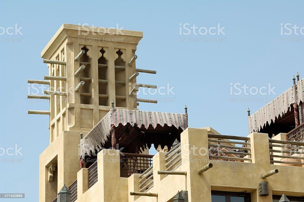 Windcatcher Tower royalty-free stock photo