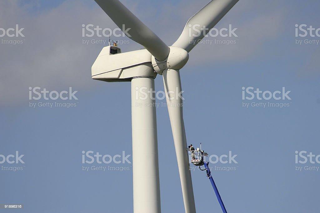 Windenergy 5 stock photo