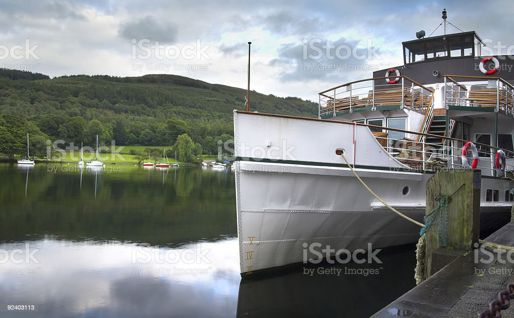 windermere cruiser royalty-free stock photo