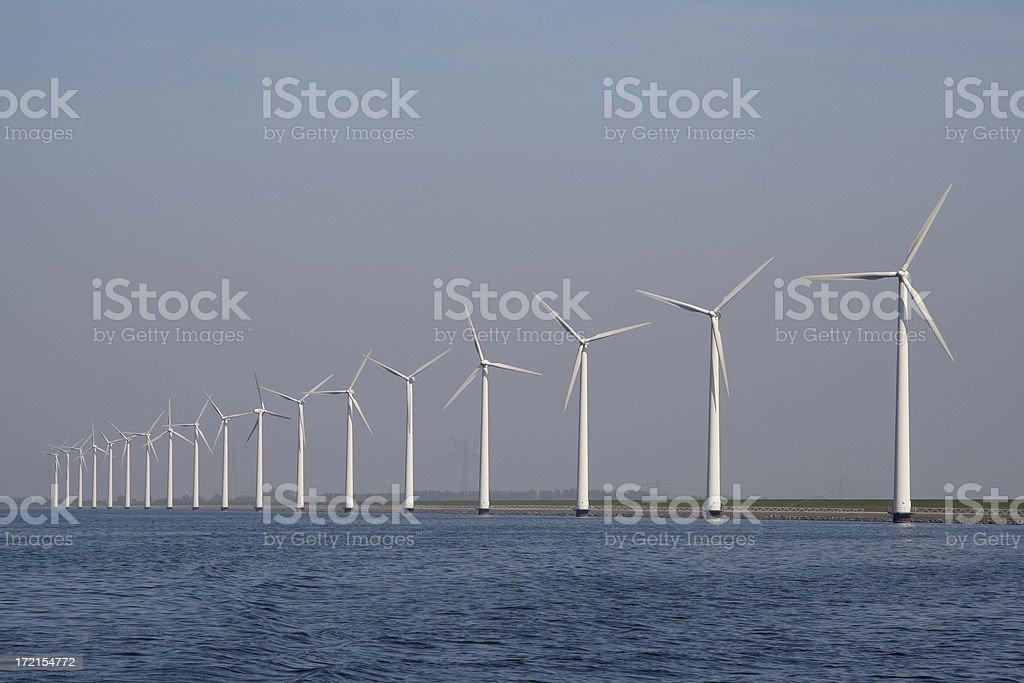 Windfarm royalty-free stock photo
