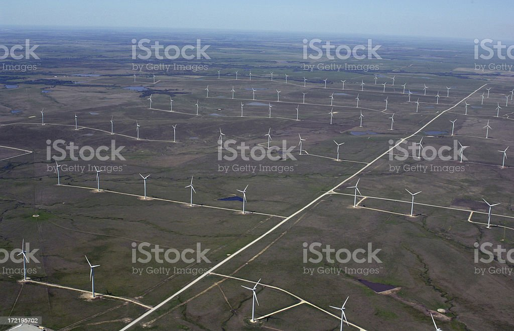 Windfarm royalty-free stock photo