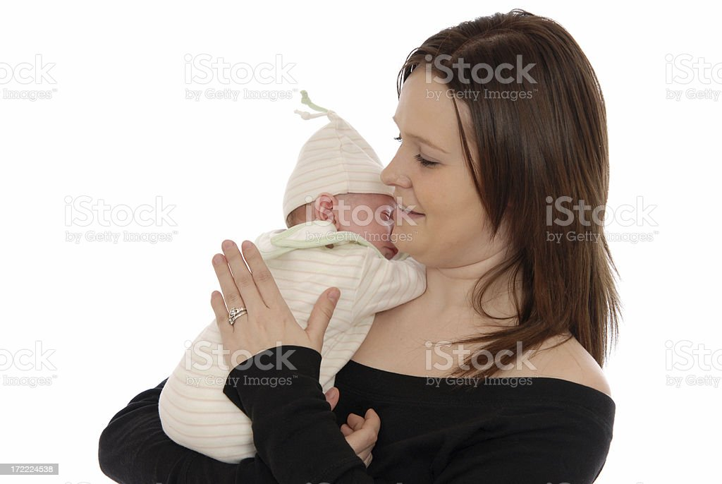 Winding Baby stock photo